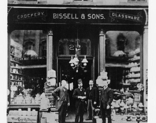 BISSELL crockery shop