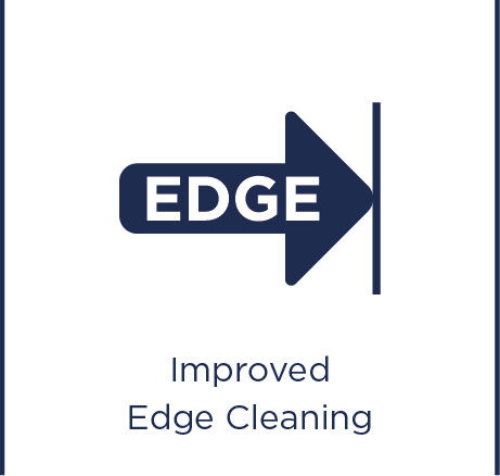 Improved edge cleaning