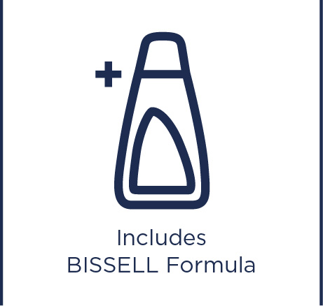 Includes BISSELL formula